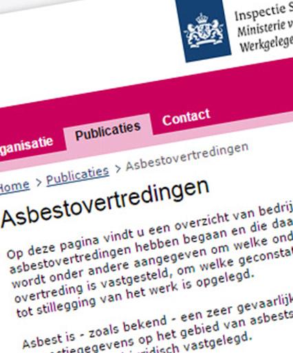 Asbestovertredingen Clevers Asbestsanering