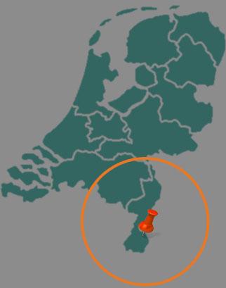 Ons werkgebied in Nederland