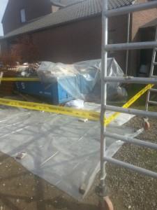 Dakbeschot Clevers Asbestsanering