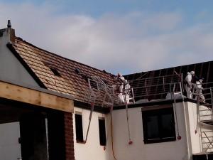 Asbest dakbeschot Clevers Asbestsanering