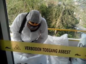 Kozijnpaneel Brunssum Clevers Asbestsanering